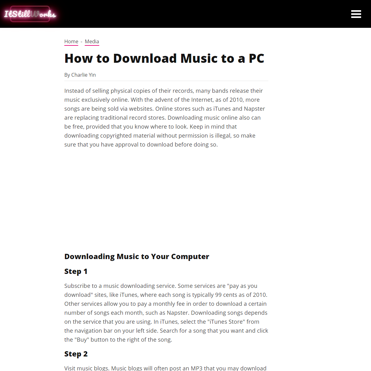 How to Download Music to a PC