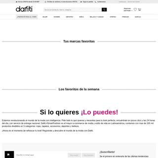 Dafiti Colombia - Moda Online - zapatos, ropa y accesorios