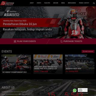 Sepang International Circuit - Home