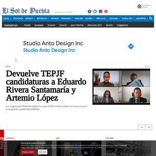 El Sol de Puebla - Noticias Locales, Policiacas, sobre México, Puebla y el Mundo