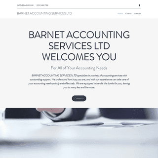 Accountant - Barnet Accounting Services Ltd - New Barnet
