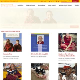 Lama Yeshe Wisdom Archive -