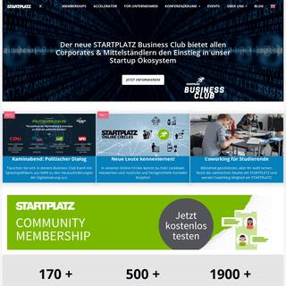 Startup Inkubator & Accelerator in Köln und Düsseldorf - STARTPLATZ