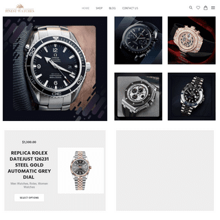 The Finest Watches - Best Replica Watches