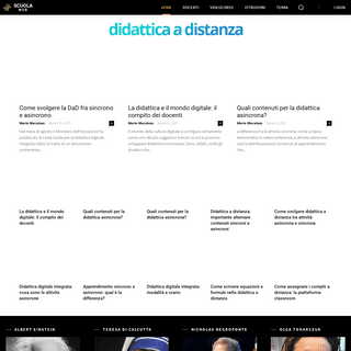 Scuola web - Didattica a distanza