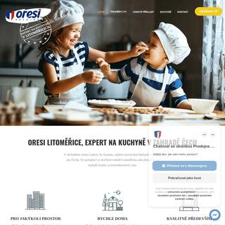 Oresi Litoměřice - EXPERT na kuchyně v Litoměřicích