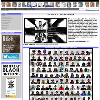 100 Great Black Britons - Homepage
