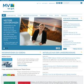 Regierungsportal M-V