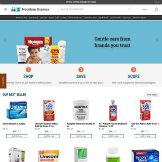 Save 20 - 50- On The Brands You Love - Medshopexpress