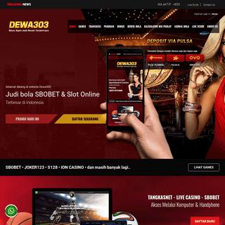 Tangkasnet, Judi Bola SBOBET, Live Casino & Slot Online
