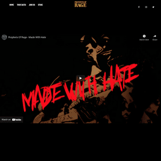 Home - Official Website of Prophets of Rage