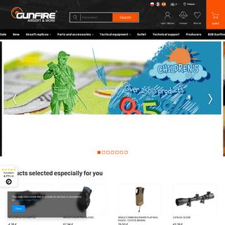 Airsoft guns, cheap & best replicas - shop Gunfire