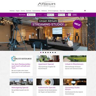 Atrium Hotel Mainz ----S Superior » Ihre TOP Unterkunft in Mainz