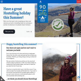 Hostelling Scotland - Book Direct for Best Price Guaranteed!