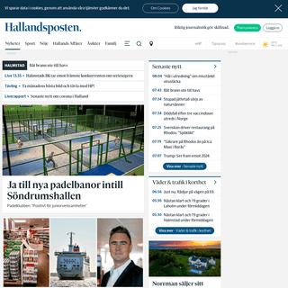 Hallandsposten - Lokala nyheter från Halmstad, Laholm & Hylte