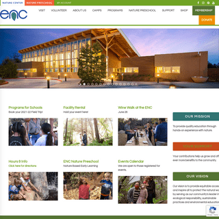 Environmental Nature Center - Connecting people to Nature.