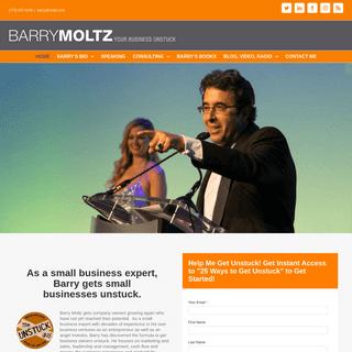 Small Business Expert - Small Business Speaker - Barry Moltz