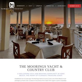 The Moorings Yacht & Country Club - Vero Beach, Florida Golf Club