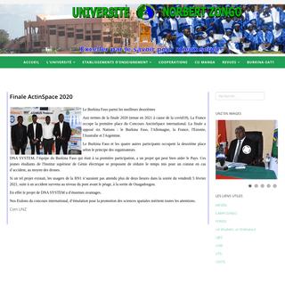 Université Norbert Zongo