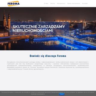 Feroma – skutecznie zarządzamy nieruchomościami