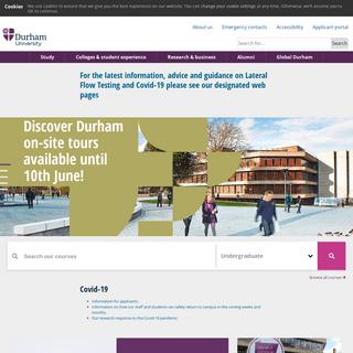 Durham University - Durham University