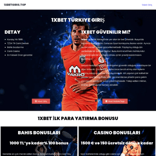 1xbet Türkiye Giriş - Bonusu, Mobil, App, PC, Bahis, Canli Casino