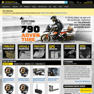 Touratech-USA- Adventure Motorcycle Gear & ADV Bike Parts