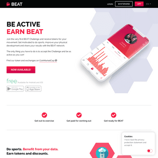 BEAT- Disrupting the health and sports industry