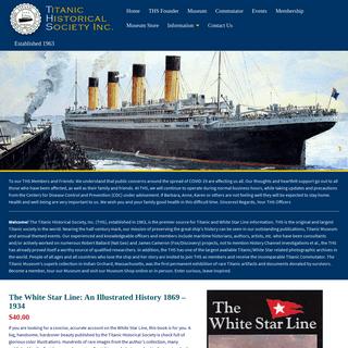Titanic Historical Society, Inc. - Titanic Historical Society