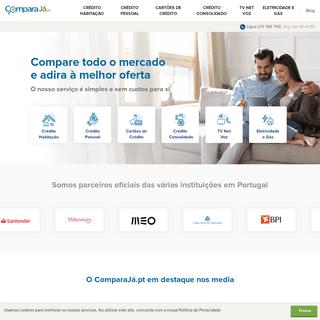 Simulador líder de Crédito e Telecomunicações - ComparaJá.pt