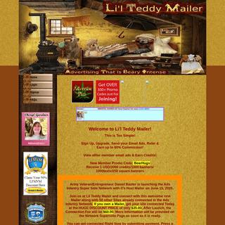 Lil Teddy Mailer