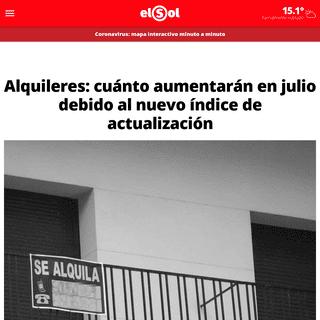 Diario El Sol. Últimas noticias de Mendoza, Argentina y el mundo.