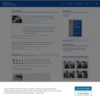 Home Page- Journal of Bodywork and Movement Therapies