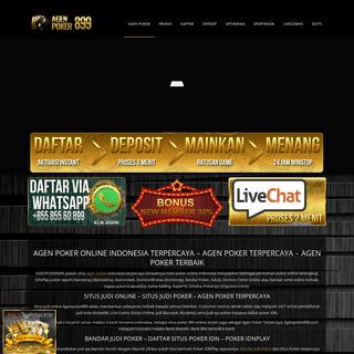 Agen Poker Online - Situs Judi Casino dan Bola Terbaik
