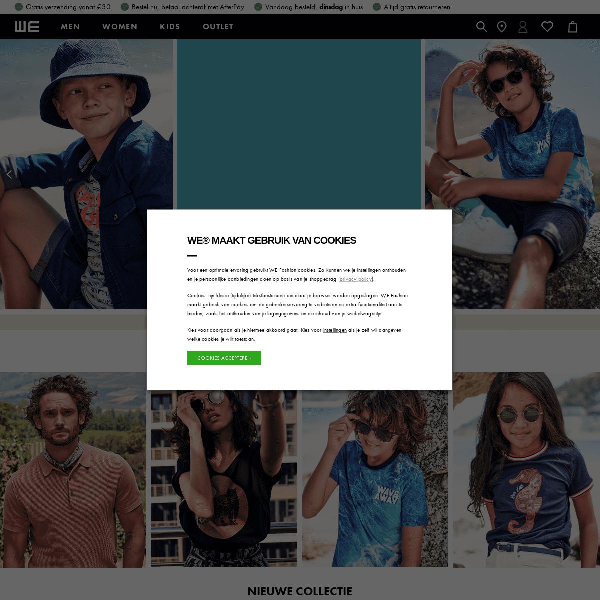 WE Fashion - Better Together - Online Shop