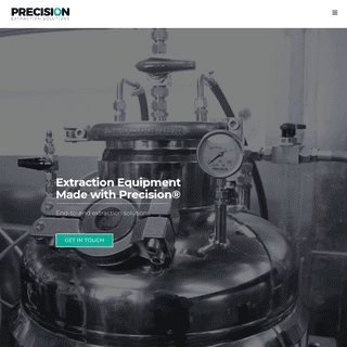 Precision Extraction Solutions - Cannabis Extraction Equipment & Labs