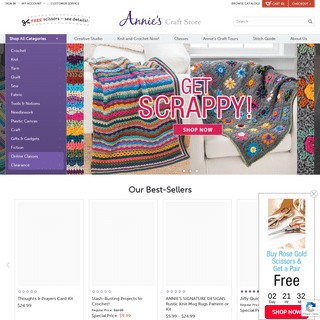 Annie`s - Crochet, Knitting, Quilting, Sewing & More