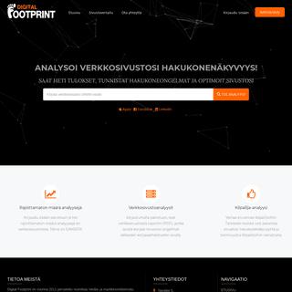 Digital Footprint - Asiantuntijasi verkossa