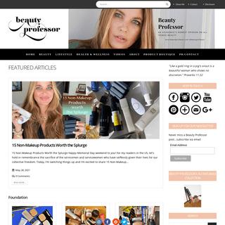 Homepage - Beauty Professor