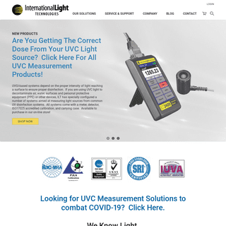 Light Measurement, Specialty Light Sources & LED Signage - ILT