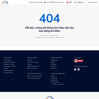 Kiếm việc làm trên Mạng tuyển dụng trực tuyến - CareerLink.vn