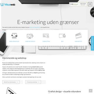 VitusWeb - Webbureau med online løsninger til seriøse forretningsfolk