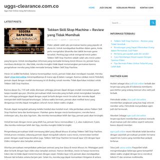uggs-clearance.com.co - Agen Slot Online Uang Asli Indonesia
