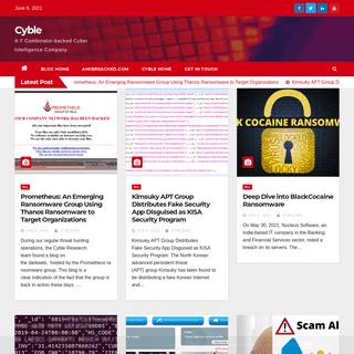 Cyble Blog