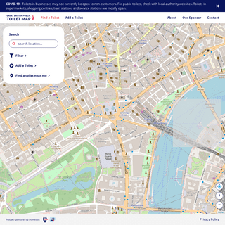 The Great British Toilet Map- Find Toilet