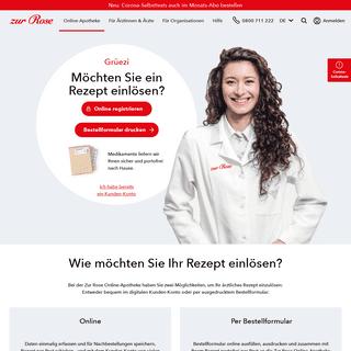 Ihre Online-Apotheke in der Schweiz - Zur Rose