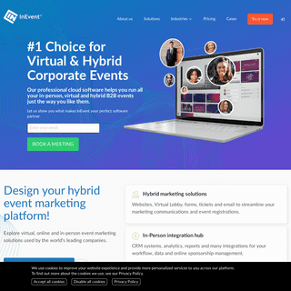 InEvent - Enterprise Virtual and Hybrid Events Software