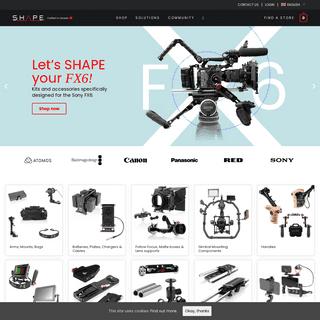 SHAPE Camera Rigs & Camera Accessories