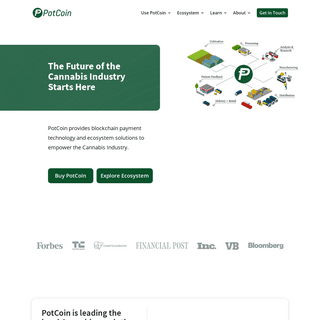 Potcoin - The Future of the Cannabis Industry