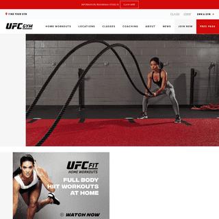 Gym & Fitness - MMA Training - UFC GYM